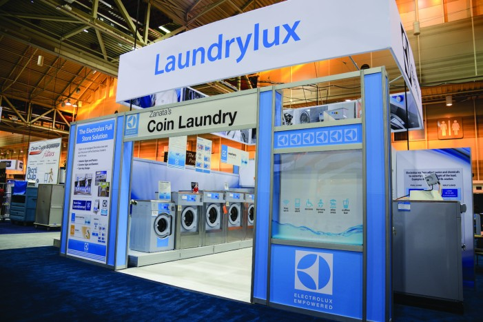 Electrolux Vended Laundry - signs, design