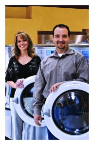 Diane and Rob Burgess, Advanced Laundry