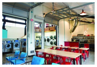 Get your homework done with a nice cup of coffee while doing your laundry - at Electrolux equipped Spin Laundry Lounge in Oregon.