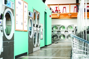 """Sustainability was always my main focus,"" states Morgan Gary, owner of Electrolux equipped Spin Laundry Lounge."