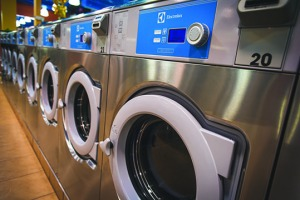 Electrolux Washers at Laundry City feature text messaging, Compass Pro, and other unique innovations.