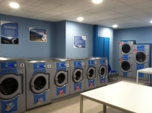 Electrolux-equipped Mr. Bubble's Laverie in Perpignan, France.