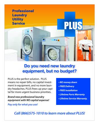 Need new laundry equipment but do not have the budget? Learn more about PLUS!