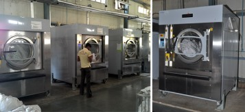 Electrolux Professional laundry equipment in Southern Railways
