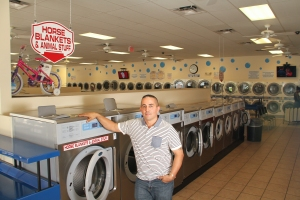 Multi-store owner Steve Mendez believes in the Wascomat brand.