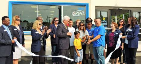 The Grand Opening of the 5th Senor Bubbles, Wascomat equipped laundry.