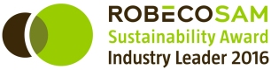 RobecoSAM-Sustainability-Award-Industry-Leader-2016